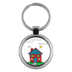 No School Greater... Key Chains (Round)