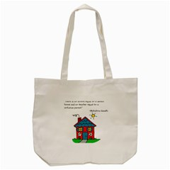 No School Greater... Tote Bag (Cream)