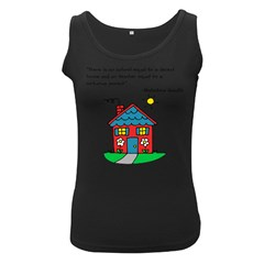 No School Greater... Women s Black Tank Top