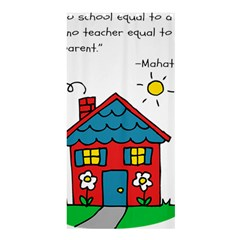 No School Greater... Shower Curtain 36  x 72  (Stall)