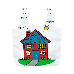 No School Greater... Full Print Recycle Bags (M)