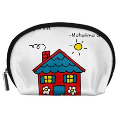 No School Greater... Accessory Pouches (Large)
