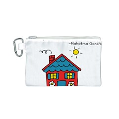 No School Greater... Canvas Cosmetic Bag (S)