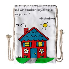 No School Greater... Drawstring Bag (Large)