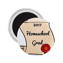 2017 Homeschool Grad! 2.25  Magnets