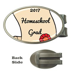 2017 Homeschool Grad! Money Clips (Oval)