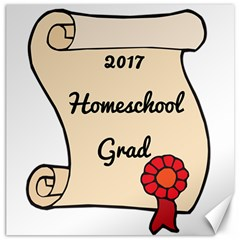 2017 Homeschool Grad! Canvas 12  x 12