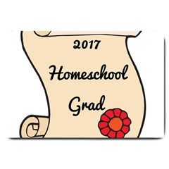 2017 Homeschool Grad! Large Doormat