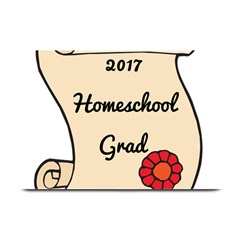 2017 Homeschool Grad! Plate Mats