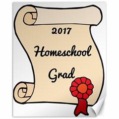 2017 Homeschool Grad! Canvas 11  x 14