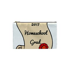 2017 Homeschool Grad! Cosmetic Bag (Small)