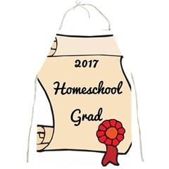 2017 Homeschool Grad! Full Print Aprons