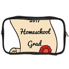 2017 Homeschool Grad! Toiletries Bags