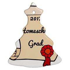 2017 Homeschool Grad! Christmas Tree Ornament (Two Sides)