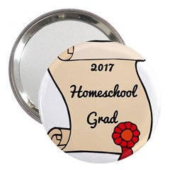 2017 Homeschool Grad! 3  Handbag Mirrors