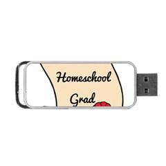 2017 Homeschool Grad! Portable USB Flash (Two Sides)