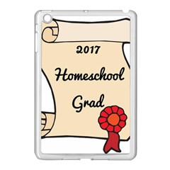 2017 Homeschool Grad! Apple iPad Mini Case (White)