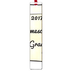 2017 Homeschool Grad! Large Book Marks