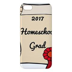 2017 Homeschool Grad! Apple iPhone 5 Premium Hardshell Case