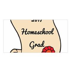 2017 Homeschool Grad! Satin Shawl