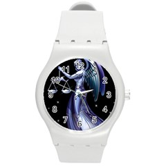 1474578215458 Round Plastic Sport Watch (M)