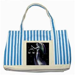 Logo 1481988059411  Img 1474578215458 Logo1 Img 1471408332494 Striped Blue Tote Bag