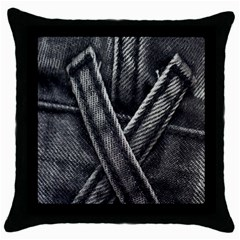 Backdrop Belt Black Casual Closeup Throw Pillow Case (Black)