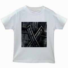 Backdrop Belt Black Casual Closeup Kids White T-Shirts