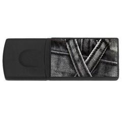 Backdrop Belt Black Casual Closeup USB Flash Drive Rectangular (2 GB)
