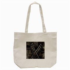 Backdrop Belt Black Casual Closeup Tote Bag (Cream)