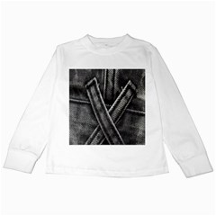 Backdrop Belt Black Casual Closeup Kids Long Sleeve T-Shirts