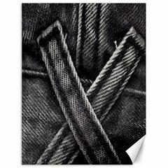 Backdrop Belt Black Casual Closeup Canvas 18  X 24