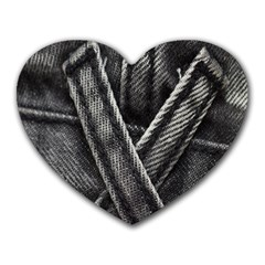 Backdrop Belt Black Casual Closeup Heart Mousepads
