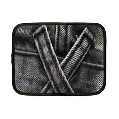Backdrop Belt Black Casual Closeup Netbook Case (small)