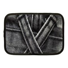 Backdrop Belt Black Casual Closeup Netbook Case (Medium)