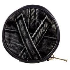 Backdrop Belt Black Casual Closeup Mini Makeup Bags