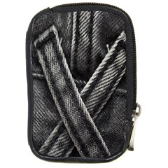 Backdrop Belt Black Casual Closeup Compact Camera Cases
