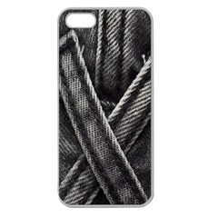 Backdrop Belt Black Casual Closeup Apple Seamless iPhone 5 Case (Clear)
