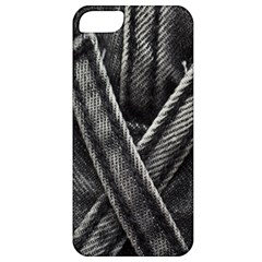 Backdrop Belt Black Casual Closeup Apple iPhone 5 Classic Hardshell Case