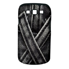 Backdrop Belt Black Casual Closeup Samsung Galaxy S III Classic Hardshell Case (PC+Silicone)