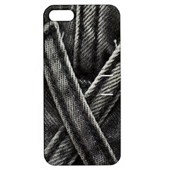 Backdrop Belt Black Casual Closeup Apple Iphone 5 Hardshell Case With Stand