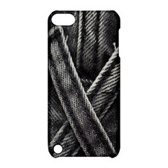 Backdrop Belt Black Casual Closeup Apple iPod Touch 5 Hardshell Case with Stand