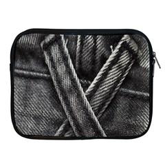 Backdrop Belt Black Casual Closeup Apple iPad 2/3/4 Zipper Cases
