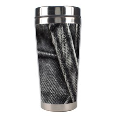 Backdrop Belt Black Casual Closeup Stainless Steel Travel Tumblers