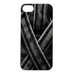 Backdrop Belt Black Casual Closeup Apple iPhone 5S/ SE Hardshell Case
