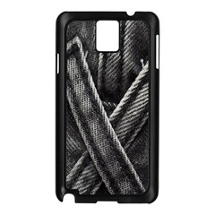 Backdrop Belt Black Casual Closeup Samsung Galaxy Note 3 N9005 Case (Black)
