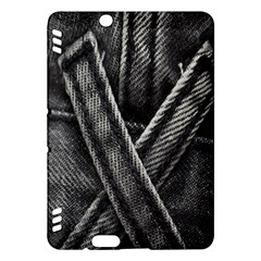 Backdrop Belt Black Casual Closeup Kindle Fire HDX Hardshell Case