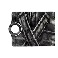 Backdrop Belt Black Casual Closeup Kindle Fire HD (2013) Flip 360 Case