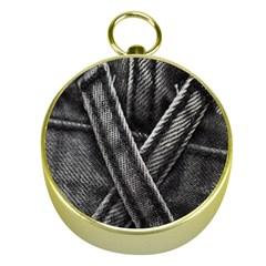 Backdrop Belt Black Casual Closeup Gold Compasses