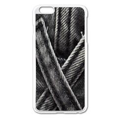 Backdrop Belt Black Casual Closeup Apple Iphone 6 Plus/6s Plus Enamel White Case